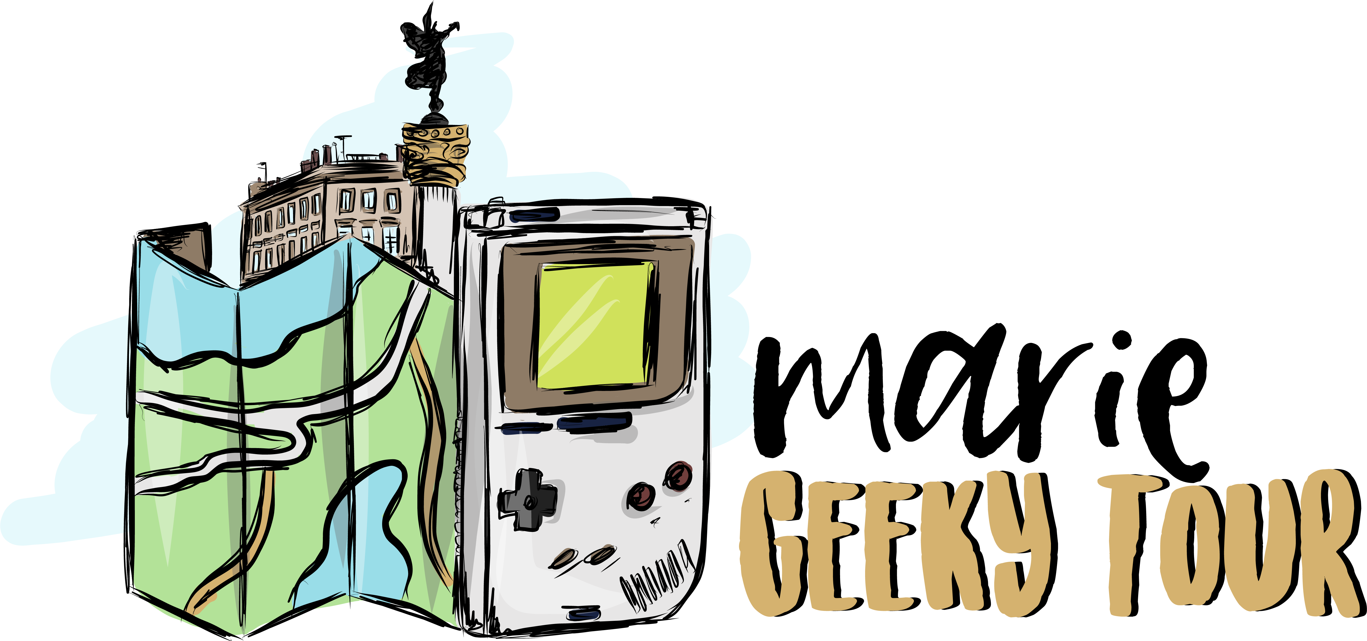 Logo de Geeky Tour
